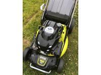 "Ryobi Self Propelled lawnmower big 21"" 190cc Subaru engine in great order 2014 mower"
