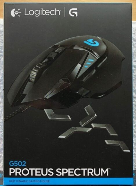 Logitech G502 Proteus Spectrum RGB Tunable Gaming Mouse - BOXED excellent  condition! | in Plymouth, Devon | Gumtree