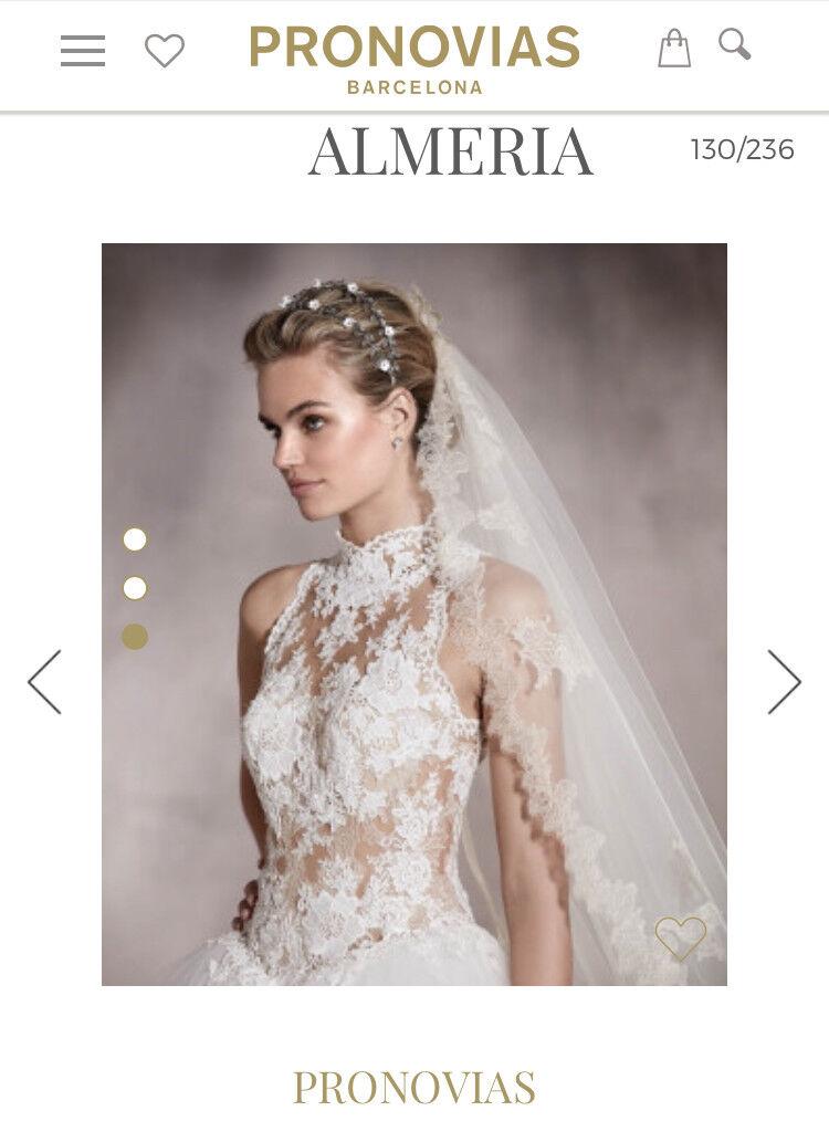 Brand New Pronovias Wedding Dress