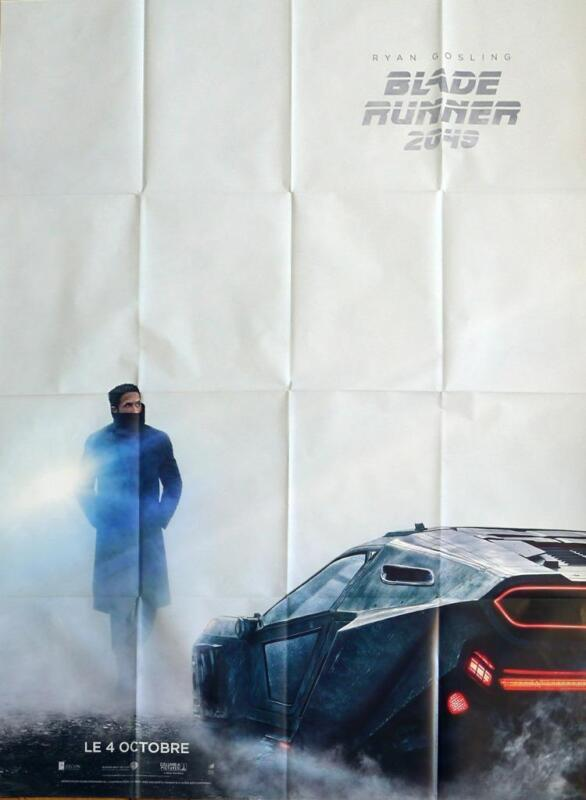 BLADE RUNNER 2049 - FORD / GOSLING - ORIGINAL FRENCH ADVANCE LARGE MOVIE POSTER