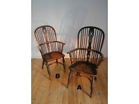 A Fine Pair of Antique Windsor Chairs.
