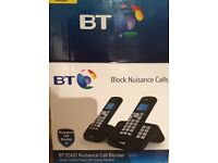 BT 3560 Cordless Telephone with Answer Machine-Twin