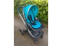 Oyster 2 Pushchair With Ocean Blue Colour Pack