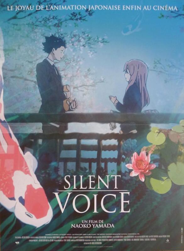 SILENT VOICE - KOE NO KATACHI - YAMADA / JAPAN - ORIGINAL FRENCH MOVIE POSTER