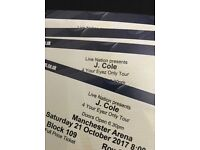 4 J Cole Tickets
