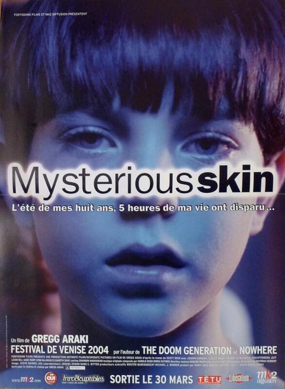 MYSTERIOUS SKIN - ARAKI / SHUE / GORDON-LEVITT / GAY - ORIGINAL MOVIE POSTER