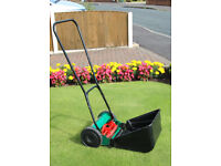 Qualcast Panther 30 manual cylinder lawn mower