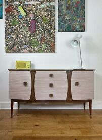 Mid-Century 1960s Melamine Sideboard by Melafurn FREE LOCAL DELIVERY