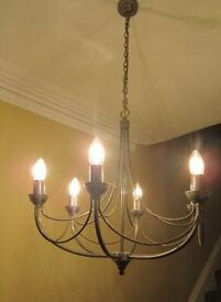 Chandelier Style Light fittings set of 5