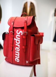 Supreme x Louis Vuitton Christopher backpack