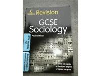 GCSE Sociology AQA revision guide plus exam practice workbook.