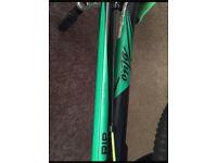 Lime green ONZA RIP trials bike