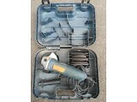 Black and decker grinder full case withblades discs! Fully working! Can deliver or post!
