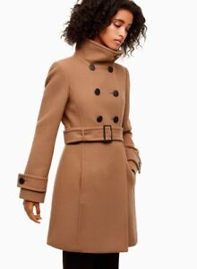 Babaton Camel Coloured Winter Coat