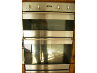 Smegg Integrated Stainless Steel Double Oven