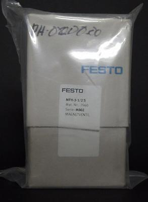 Festo Mfh-3-12s 7960 Solenoid Valve New In Box 3867