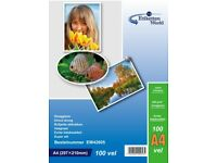 A4 Premium Quality Glossy Photo Paper for Inkjet Printers