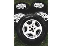 Range Rover 16 inch Stock Alloy Wheels & Tyres