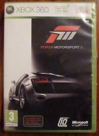 Forza Motorsport 3 XBOX 360 XBOX LIVE.