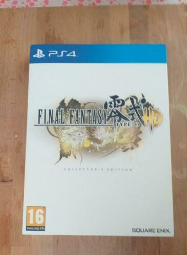 Ps4 ,Final Fantasy Type-0 HD, Collector's Edition