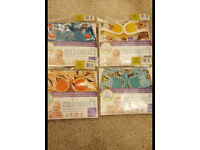 Miosoft nappy covers x4. Brand new size 1.