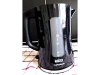 MORPHY RICHARDS BRITA ELECTRIC FILTER KETTLE - AS NEW