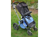 Bugaboo Cameleon with extra wheeled board