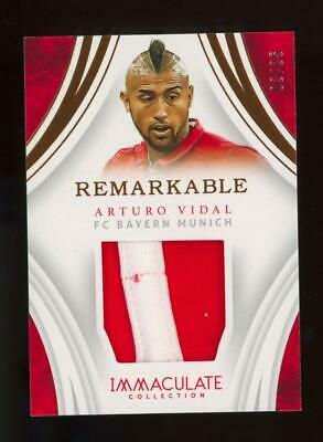 2017 Panini Immaculate Collection Remarkable Arturo Vidal 2/25 Patch