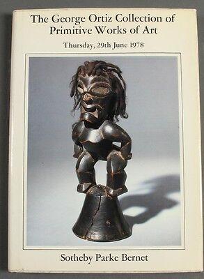 Sothebys Rare George Ortiz Col. Primitive Works of Art 1978