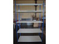 Premium BigDug Big340 Shelves/Racks H 2.4m W 1.5m D 0.7m Garage Warehouse Shelving Racking