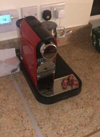 Nespresso Krups & Milk Frother- Coffee Machine