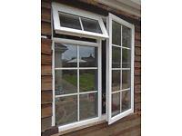 """Double Glazed UPVC Window Unit (Used) 48""""W x 53""""H"""