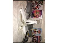 Wii with control and games