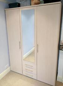 Vancouver wardrobe and bed side cabinet (Argos)