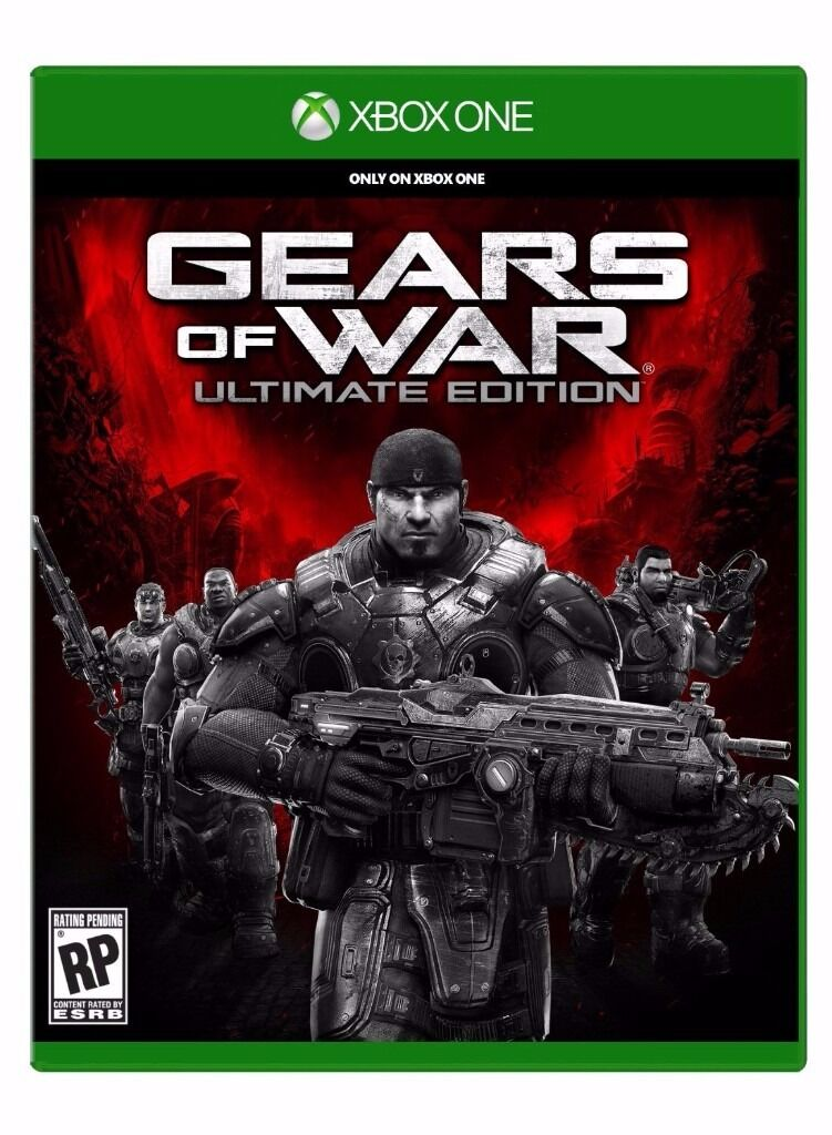 Gears of War ULTIMATE EDITION + FIFA 16 & 15 Xbox One