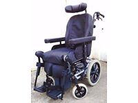Invacare Rea Azalea Assist Tilt in Space Wheelchair with Alber Viaplus V12 Powerpack