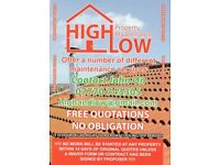 HIGH&LOW Property Maintenance. From RIDGELINE to FLOWER BEDS & All inbetween