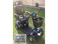 Mobility scooter 8mph 3mth warranty full canopy 2016 model