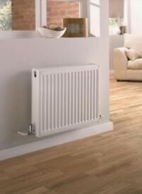 2 x Compact Double Panel Convector Radiator - (Type 22/K2) - 300mm x 400mm - 3DF400 - Brand New