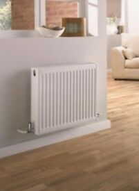 2 x Compact Double Panel Convector Radiator - (Type 22/K2) - 300mm x 400mm - 3DF400 - New - Sale