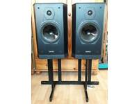 Tannoy 607 Loudspeakers with Stands