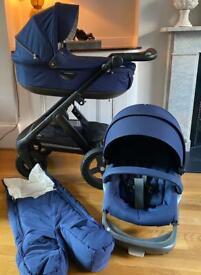 Stokke Trailz Classic Stroller & Carry Cot