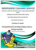 independent cleaner available