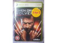 X-Men Origins Wolverine Xbox 360 - Complete and Great Condition