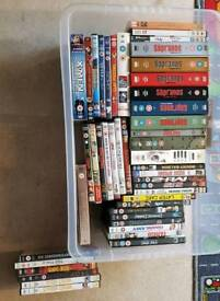 DVD collection 800ish DVDs