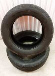 (Y12) 2 Pneus Ete - 2 Summer Tires 275-55-20 Goodyear