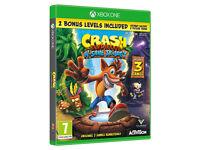 xbox one game crash bandicoot n,sane trilogy (new sealed)