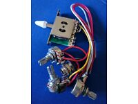 Stratocaster Style Wiring Harness