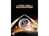 Star trek Enterprise The complete collection DVD boxset NEW