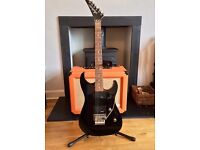 Rare Jackson JS Electric Guitar Black, Not Fender, PRS or Gibson